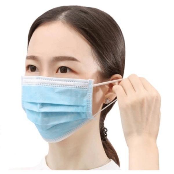 マスク 入荷 50枚セット + 10枚 合計60枚入り 在庫あり 使い捨て 三層構造 花粉 ウィルス飛沫対策 男女兼用|fiprin|02