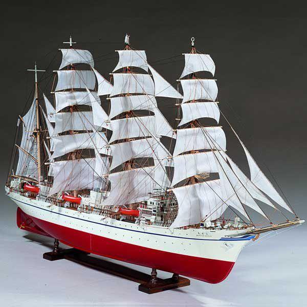 【17日最大29.5%還元】 (取寄品) ウッディジョー 木製模型 1/80 日本丸 精密 上級者向け WoodyJOE 船舶 船