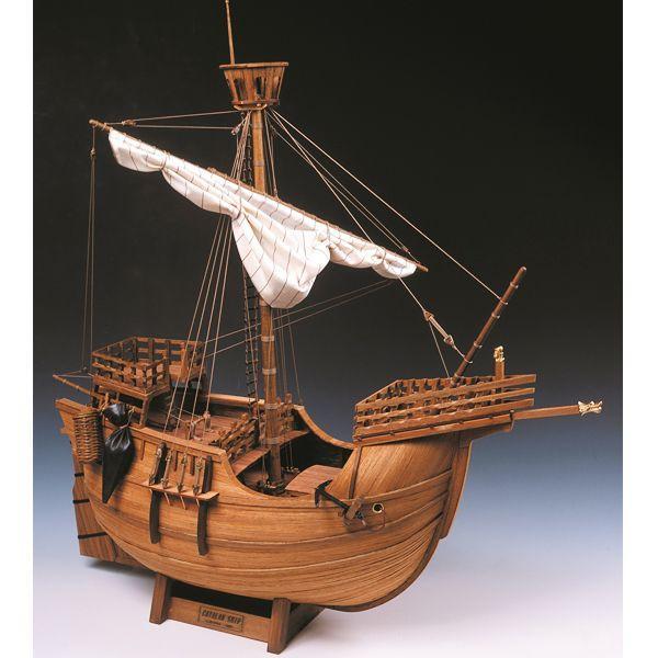 【17日最大29.5%還元】 (取寄品) ウッディジョー 木製模型 1/30 カタロニア船 スケールモデル 工作
