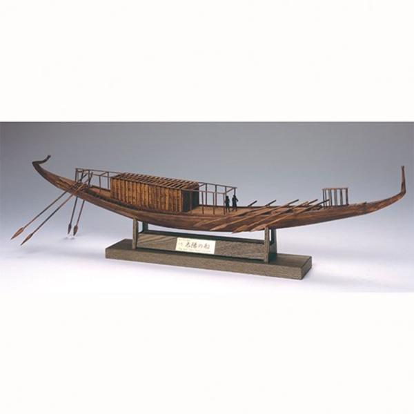【17日最大29.5%還元】 (取寄品) ウッディジョー 木製模型 1/72 太陽の船 4560134351523