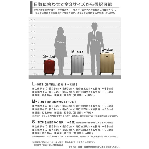 スーツケース(大容量 大型)|first-shop|09