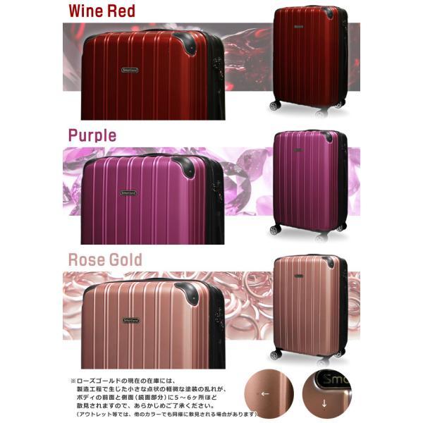 スーツケース M/MSサイズ 中型/セミ中型  超軽量  キャリーケース ファスナータイプ キャリーバック|first-shop|11