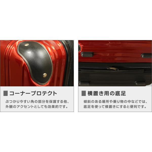 スーツケース M/MSサイズ 中型/セミ中型  超軽量  キャリーケース ファスナータイプ キャリーバック|first-shop|05
