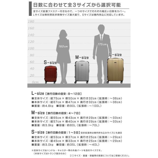スーツケース M/MSサイズ 中型/セミ中型  超軽量  キャリーケース ファスナータイプ キャリーバック|first-shop|09