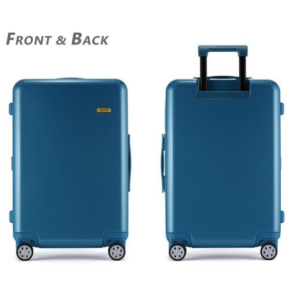 スーツケース キャリーバッグ  M サイズ 高級PC100%ボディ超軽量 YKKファスナー Wキャスター TSAロック|first-shop|13