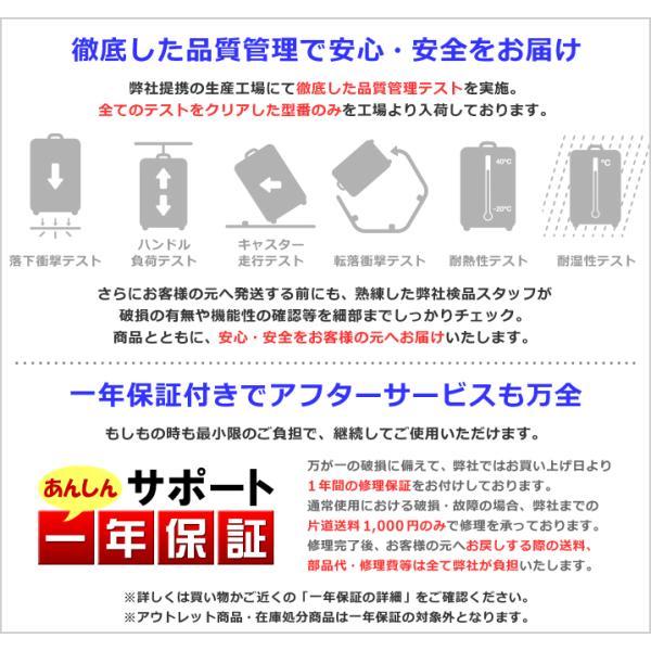 スーツケース キャリーバッグ  M サイズ 高級PC100%ボディ超軽量 YKKファスナー Wキャスター TSAロック|first-shop|03