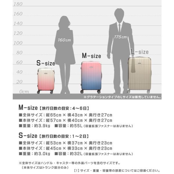 キャリーケース 機内持ち込み かわいい Wキャスター キャリーバッグ 小型 Sサイズ 超軽量 5035シリーズ|first-shop|06