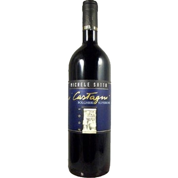 ミケーレ・サッタ ボルゲリ スペリオーレ イ・カスターニ 赤 2009 750ml(1-V2522)(飲み頃ワイン)
