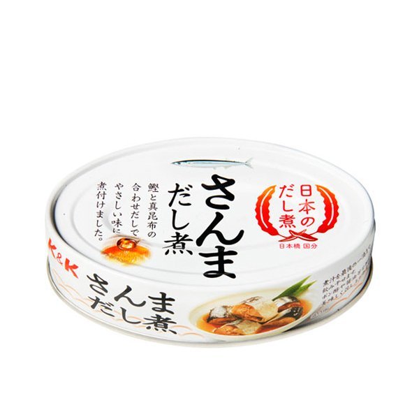 K&K 国分 日本のだし煮 さんま だし煮 EO缶 100g(4)