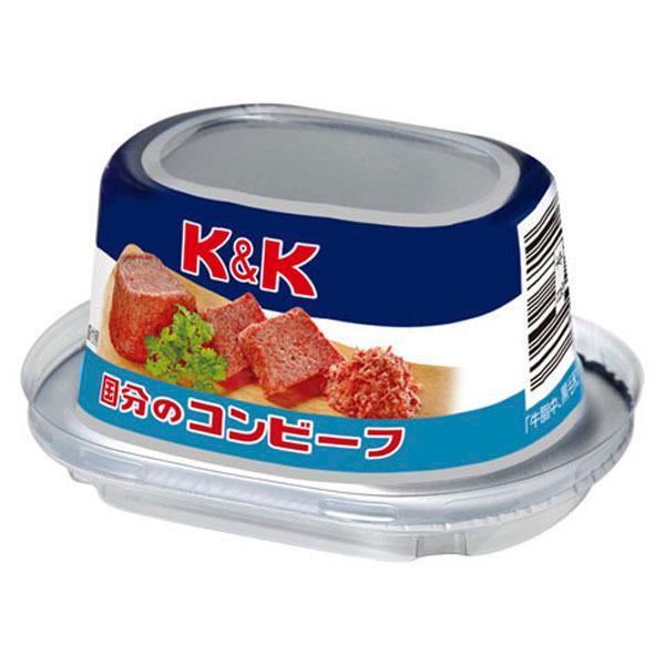 【送料無料!】 K&K 国分 コンビーフ 80g×12缶セット(北海道・沖縄は送料+980円)(4)