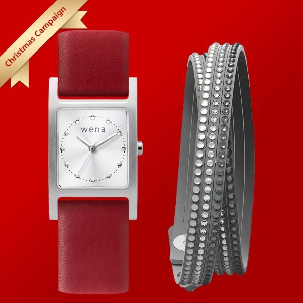 wena wrist leather クリスマスギフトセット(18mm) firstflight