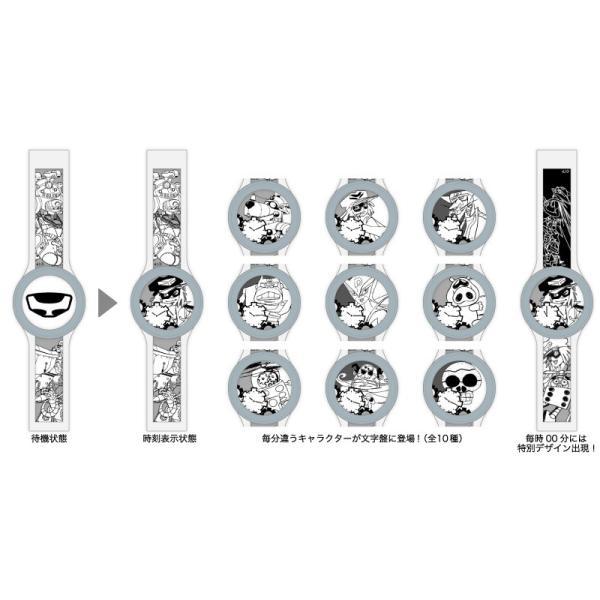 タツノコプロ55周年記念別注品 FES Watch U Silver|firstflight|05