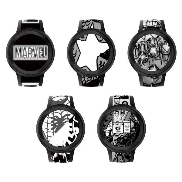 FES Watch U MARVEL Comics 別注モデル (Premium Black)|firstflight|02