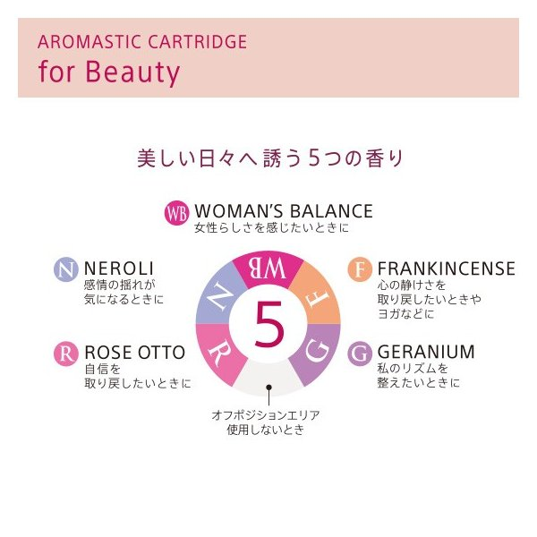 AROMASTIC CARTRIDGE for Beauty(アロマスティック カートリッジ for Beauty) |firstflight|02