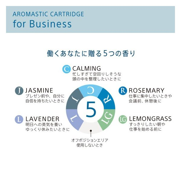 AROMASTIC CARTRIDGE for Business(アロマスティック カートリッジ for Business) |firstflight|02