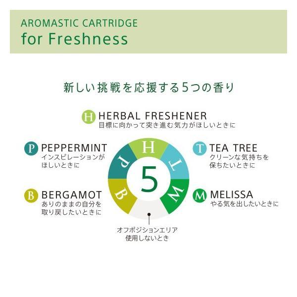 AROMASTIC CARTRIDGE for Freshness(アロマスティック カートリッジ for Freshness) firstflight 02