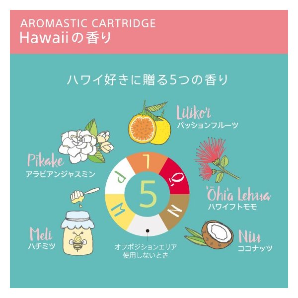 AROMASTIC Hawaiiの香り CDセット|firstflight|03