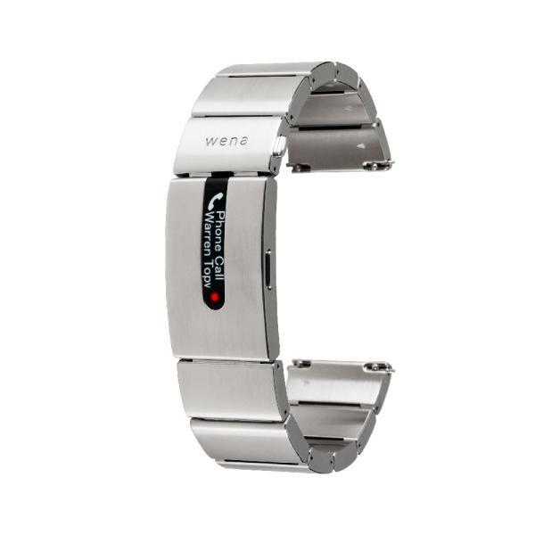 wena wrist pro Silver|firstflight