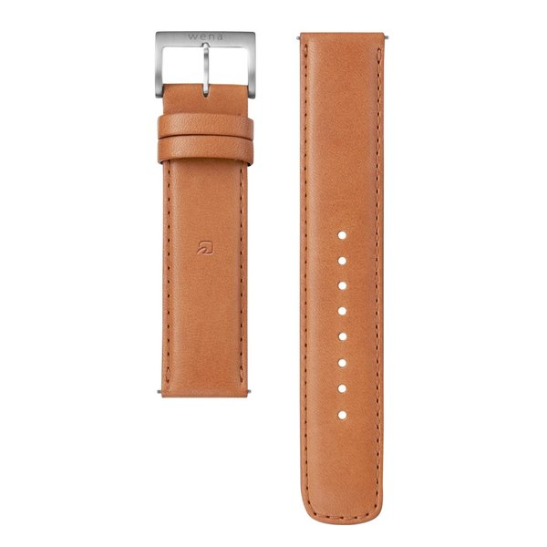 wena wrist leather 20mm用 -Tawny Brown-|firstflight