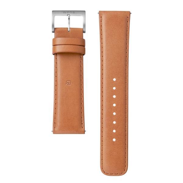 wena wrist leather 22mm -Tawny Brown-|firstflight