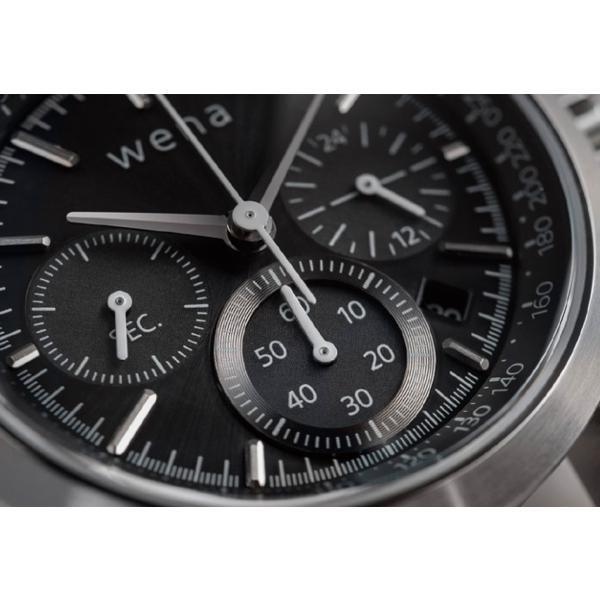 wena wrist Chronograph Solar Silver|firstflight|03