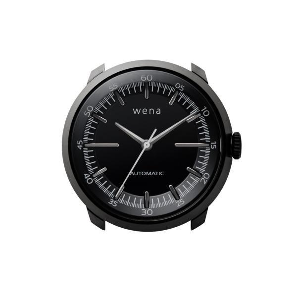 wena wrist Three Hands Mechanical Premium Black|firstflight