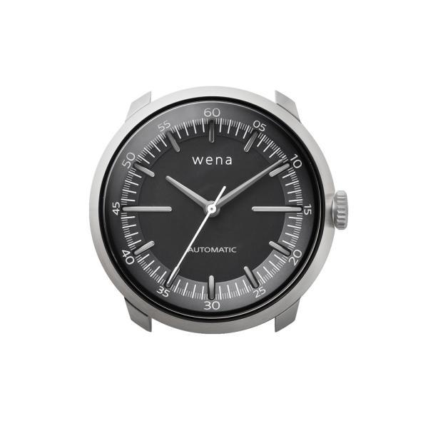 wena wrist Three Hands Mechanical Silver|firstflight