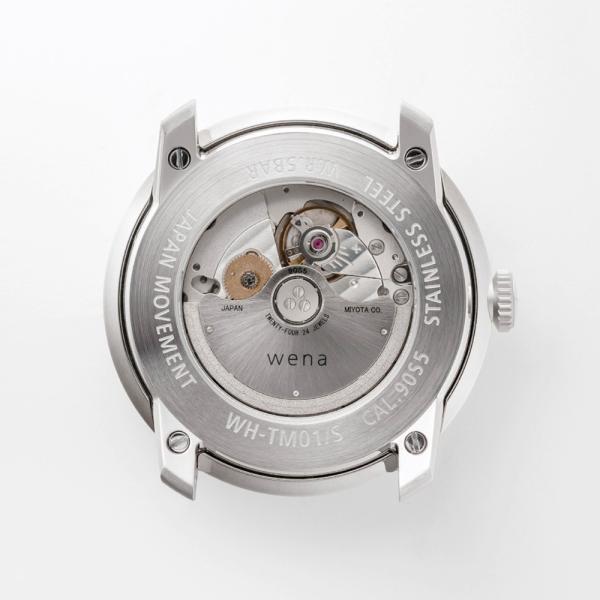 wena wrist Three Hands Mechanical Silver|firstflight|02