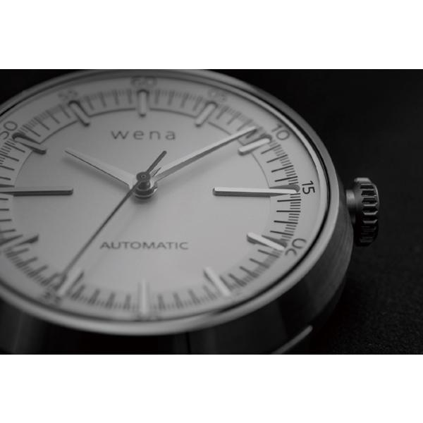 wena wrist Three Hands Mechanical Silver|firstflight|03
