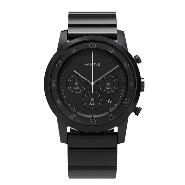 wena wrist -Chronograph Premium Black-|firstflight|01