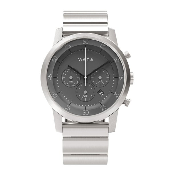 wena wrist -Chronograph Silver-|firstflight