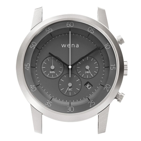 wena wrist用 Chronograph Silver Head|firstflight
