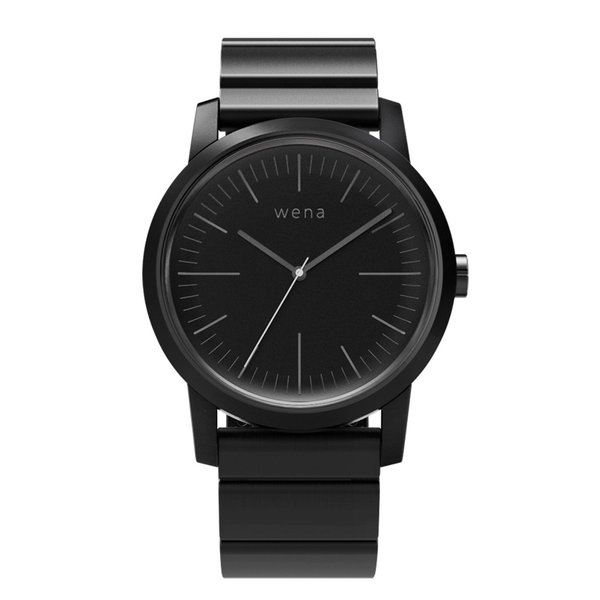 wena wrist -Three Hands Premium Black-|firstflight|01