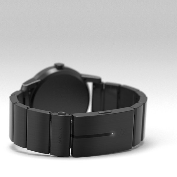 wena wrist -Three Hands Premium Black-|firstflight|02