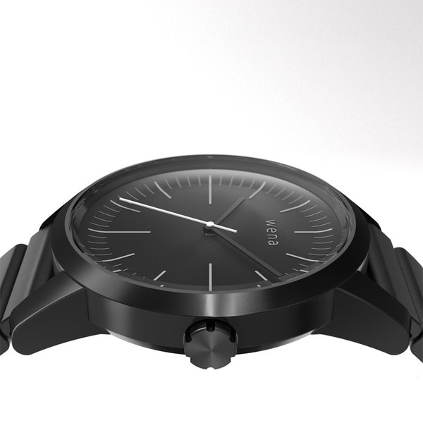 wena wrist -Three Hands Premium Black-|firstflight|04