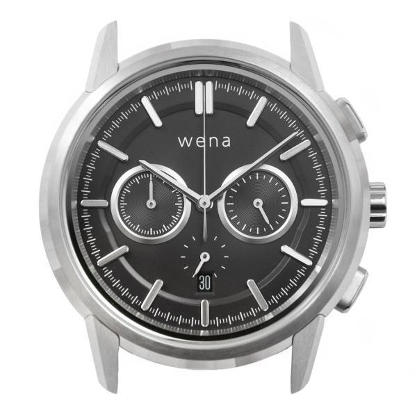 wena wrist Chronograph Classic Silver head firstflight