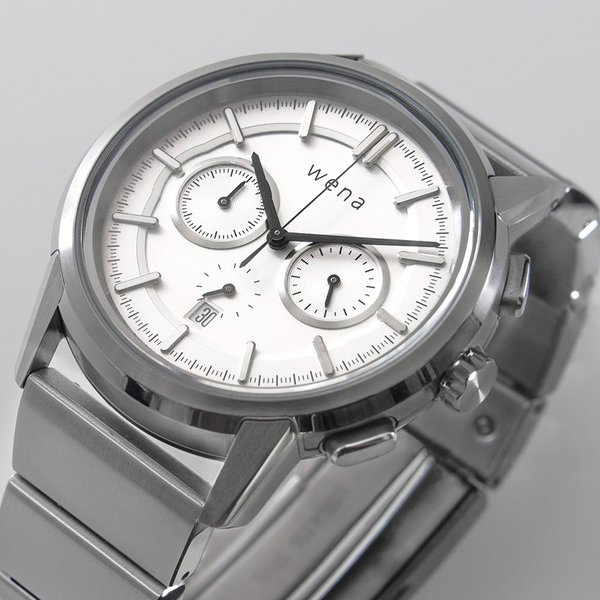 wena wrist Chronograph Classic White head|firstflight|03