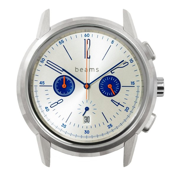 wena wrist Chronograph Classic Silver head beams edition|firstflight