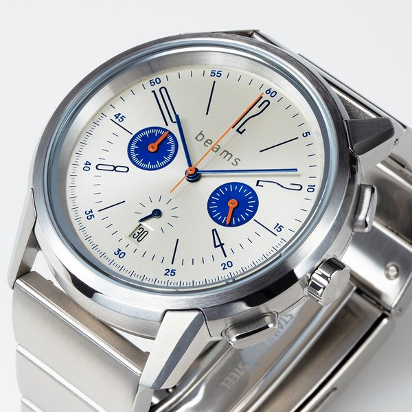 wena wrist Chronograph Classic Silver head beams edition|firstflight|06
