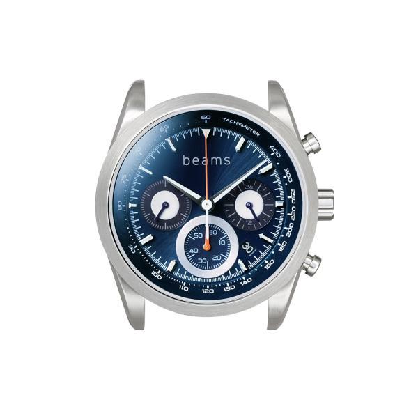 wena wrist Chronograph Solar Silver -beams edition-|firstflight