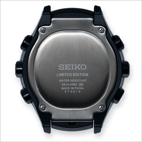 seiko wena wrist active Digital Solar head Blue Black|firstflight|03