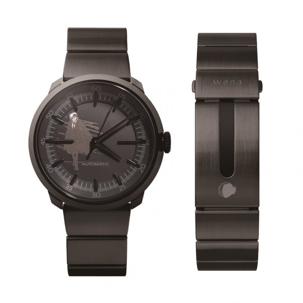 wena wrist Three Hands Mechanical Premium Black BLACKJACK Edition|firstflight|02