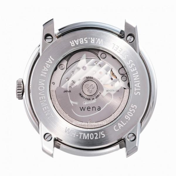wena wrist Three Hands Mechanical Silver ATOM Edition|firstflight|04
