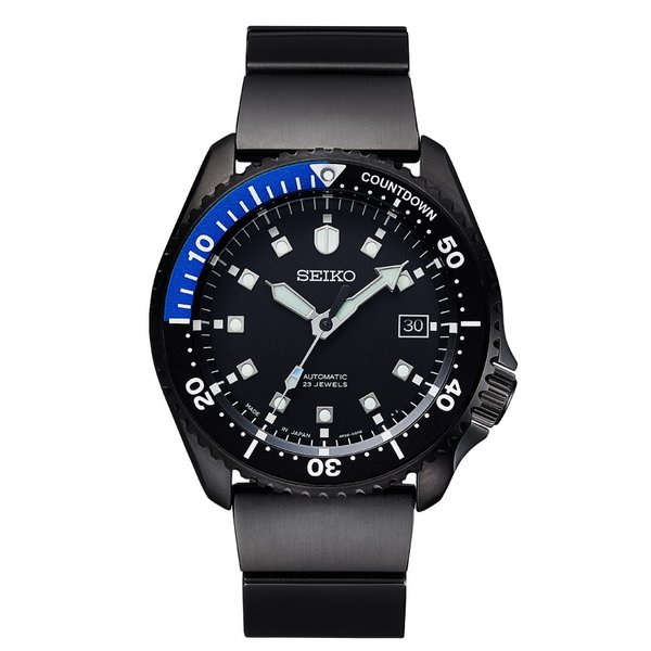 seiko wena wrist pro Mechanical head Premium Black firstflight