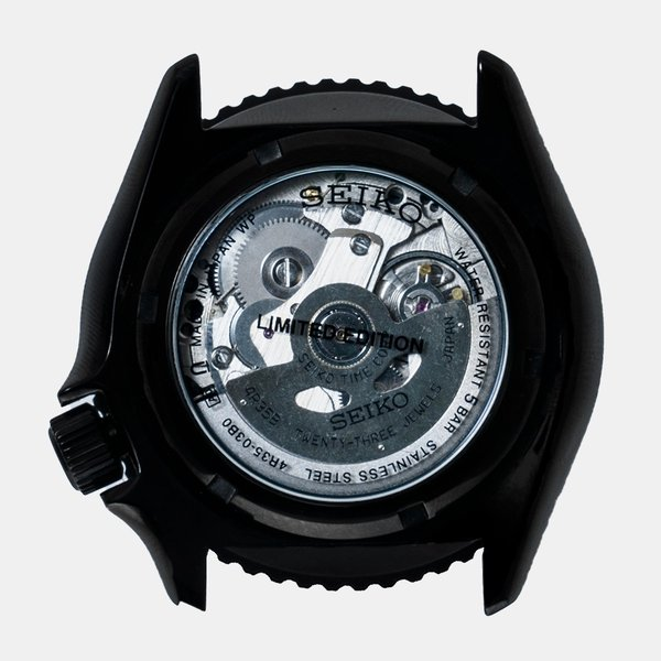 seiko wena wrist pro Mechanical head Premium Black firstflight 02