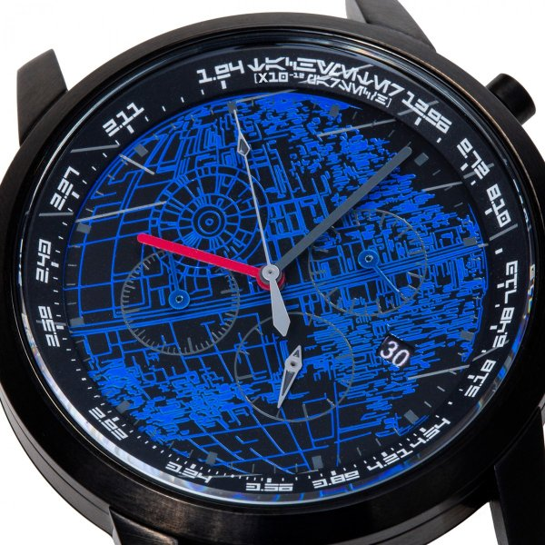 "wena wrist pro Chronograph Premium Blackc set /STAR WARS limited edition ""THE DARK SIDE""|firstflight|02"