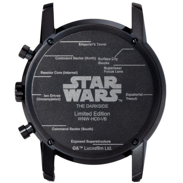 "wena wrist pro Chronograph Premium Blackc set /STAR WARS limited edition ""THE DARK SIDE""|firstflight|03"