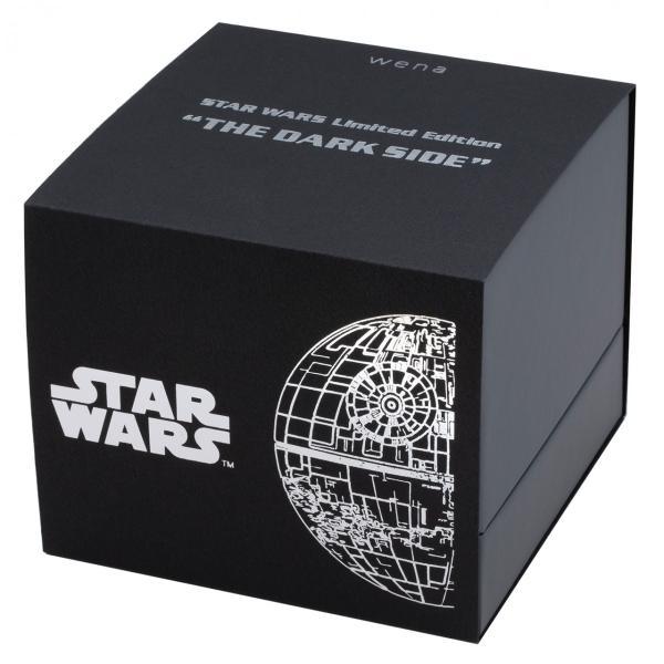"wena wrist pro Chronograph Premium Blackc set /STAR WARS limited edition ""THE DARK SIDE""|firstflight|05"