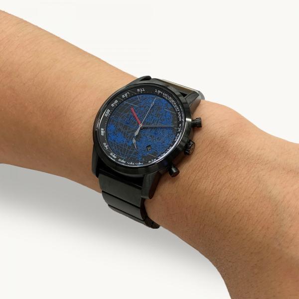 "wena wrist pro Chronograph Premium Blackc set /STAR WARS limited edition ""THE DARK SIDE""|firstflight|10"