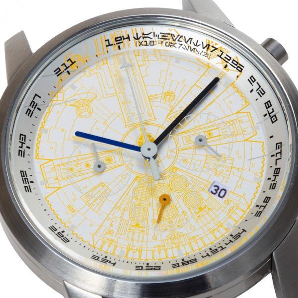 "wena wrist pro Chronograph Silver set /STAR WARS limited edition ""THE LIGHT SIDE""|firstflight|02"